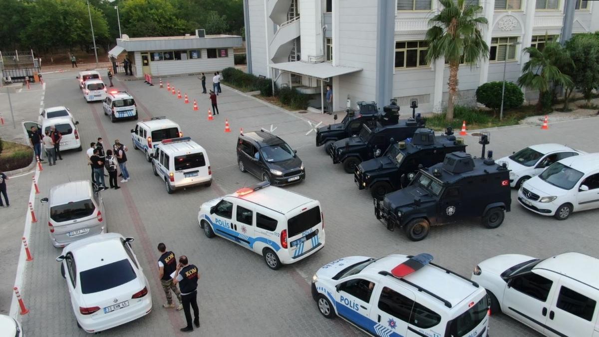 Mersin merkezli 18 ilde operasyon: 86 kişi gözaltına alındı