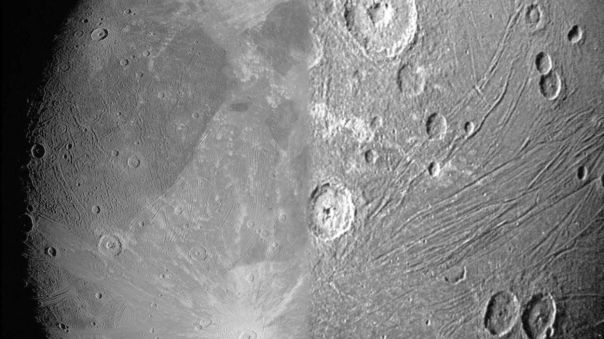 NASA, Jüpiter'in uydusunun görüntülerini paylaştı