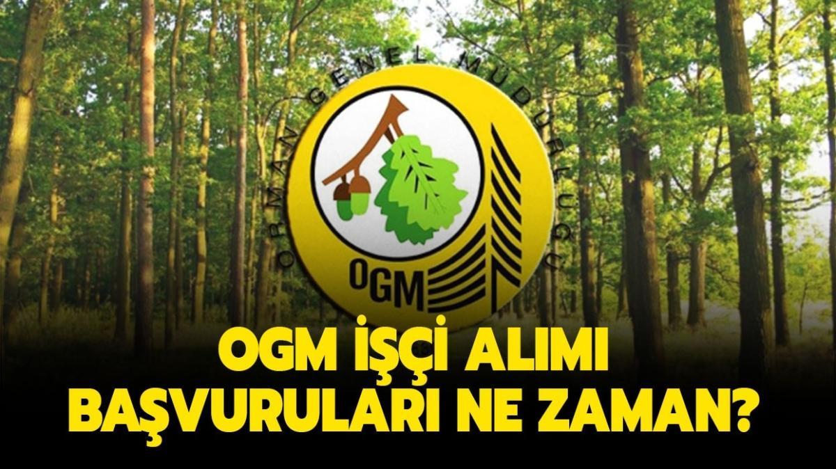 Orman Genel Müdürlüğü işçi alımı bekleniyor!