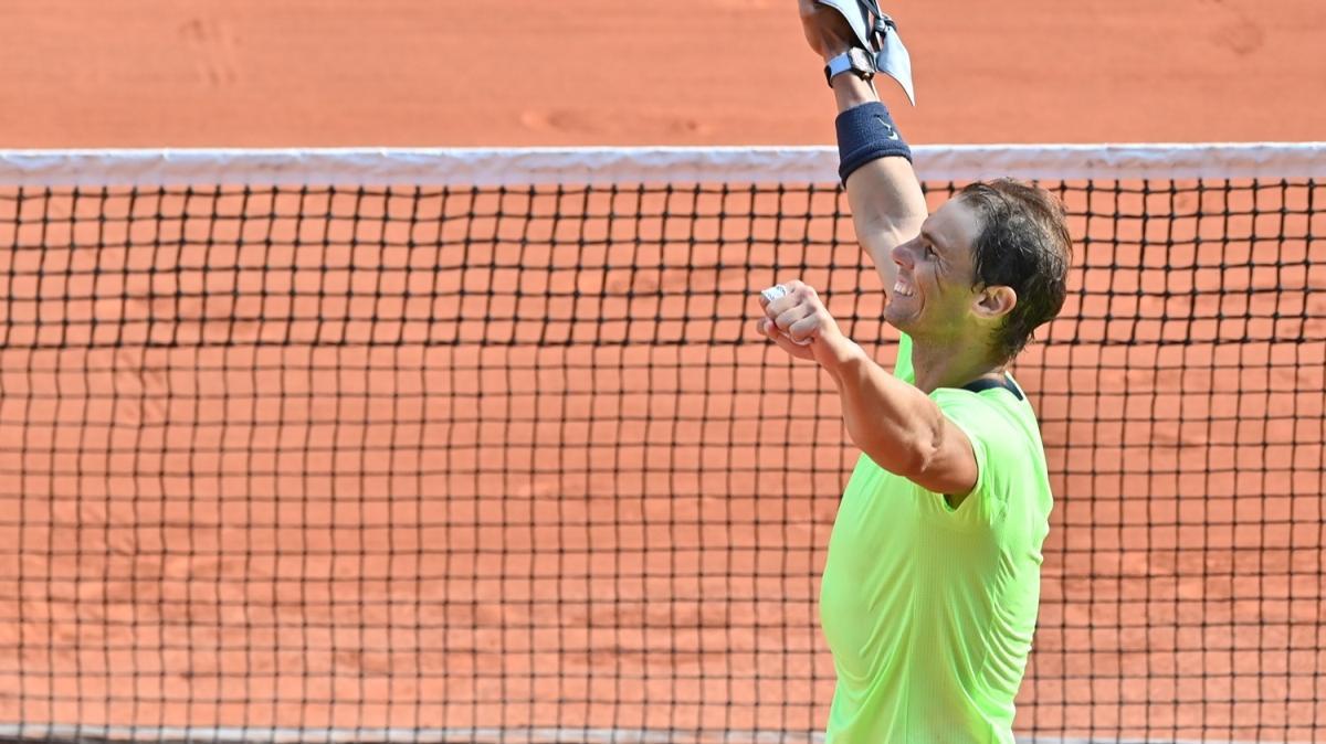 Rafael Nadal, Fransa Açık'ta yarı finale yükseldi