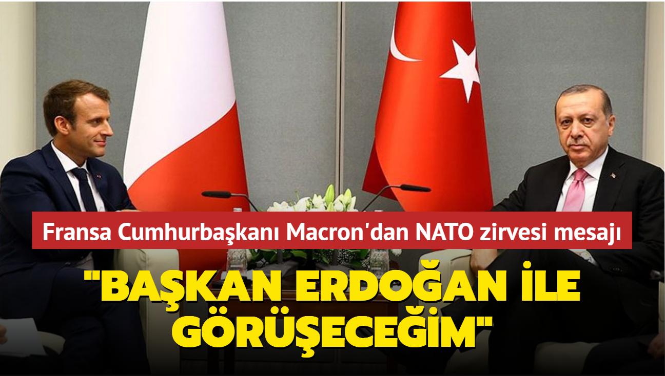 Başkan Erdoğan, Fransa Cumhurbaşkanı Macron ile görüşecek