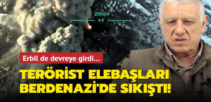 Erbil de devreye girdi... Terörist elebaşları Berdenazi'de köşeye sıkıştı!
