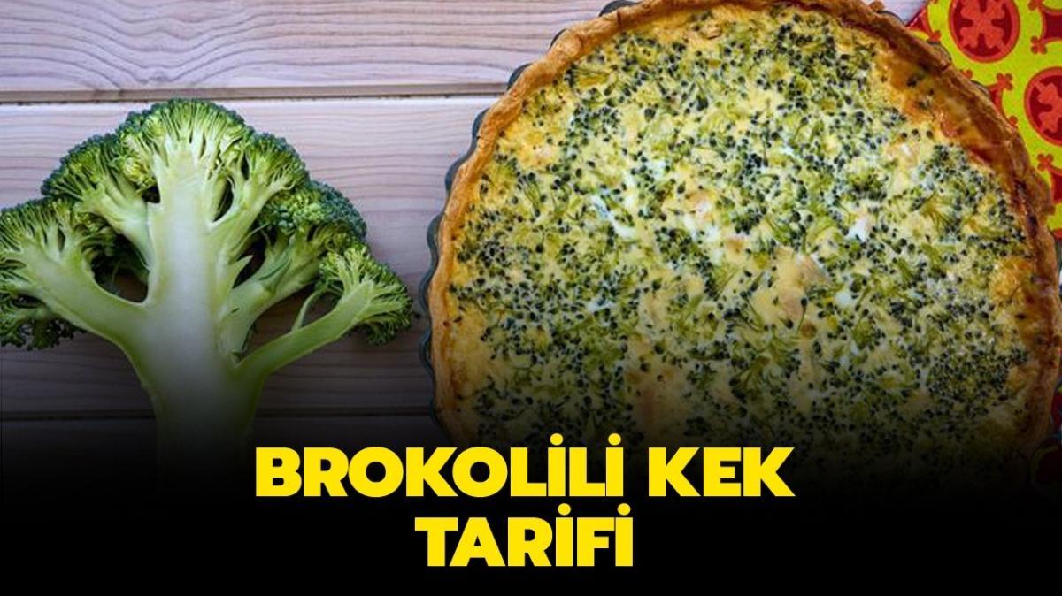 """Gelinim Mutfakta brokolili kek nasıl yapılır"""" Brokolili kek tarifi ve malzemeleri!"""