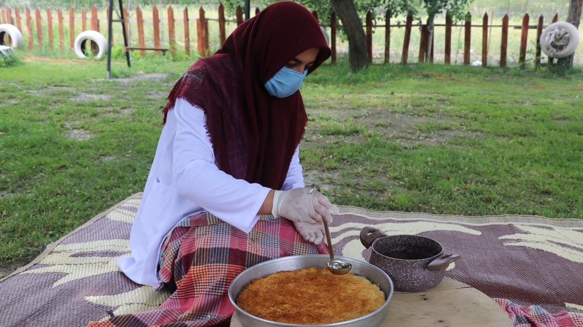 Erzincan'ın meşhur kesme kadayıf tatlısı tescillendi! İşte tatlının püf noktası
