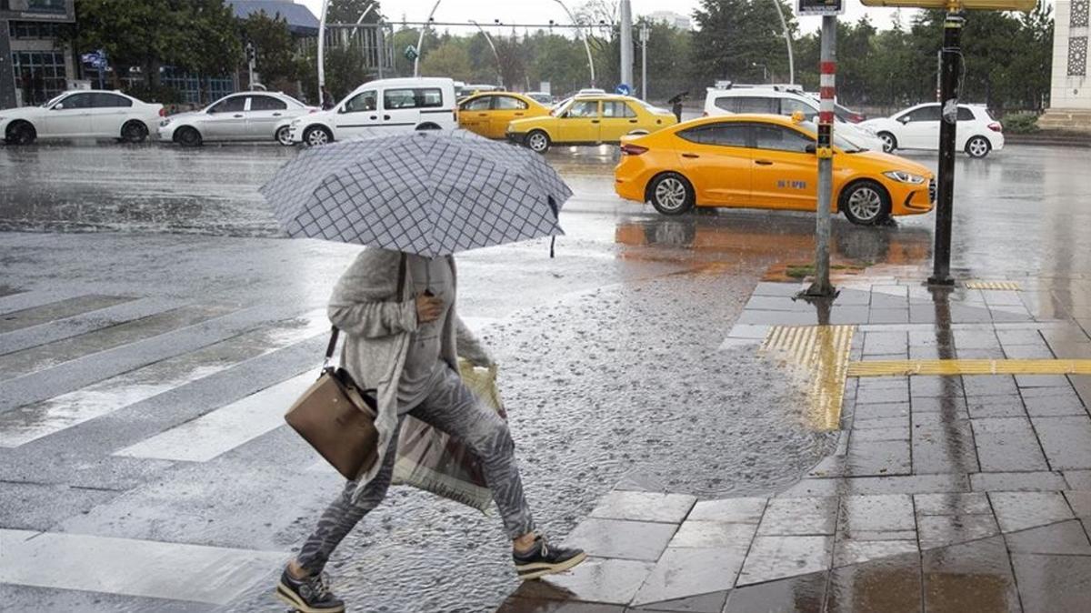 Meteoroloji'den Ankara için kuvvetli yağış uyarısı