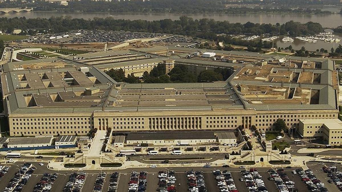 """Pentagon'dan """"Türkiye"""" açıklaması"""