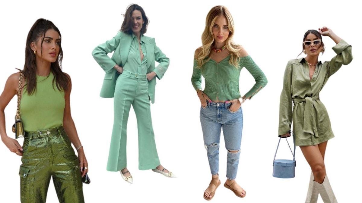 En çok kazanan bloggerların yeşil kombinleri