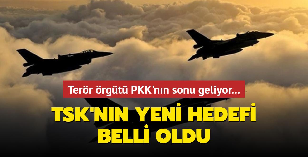 Terör örgütü PKK'nın sonu geliyor... TSK'nın yeni hedefi belli oldu