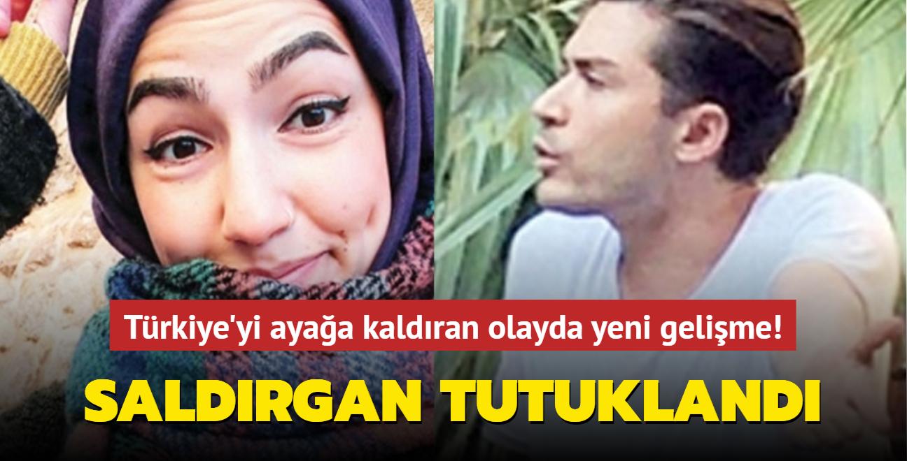 Türkiye'yi ayağa kaldıran olayda yeni gelişme! Saldırgan tutuklandı