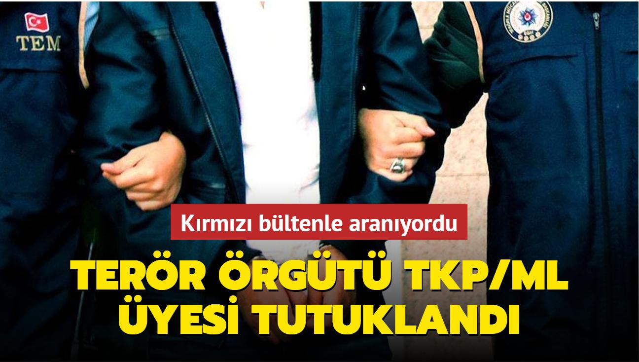 Muğla'da yakalanmıştı... TKP/ML üyesi tutuklandı