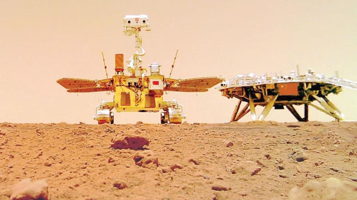 Çinli 'Curong' Mars'ı turluyor