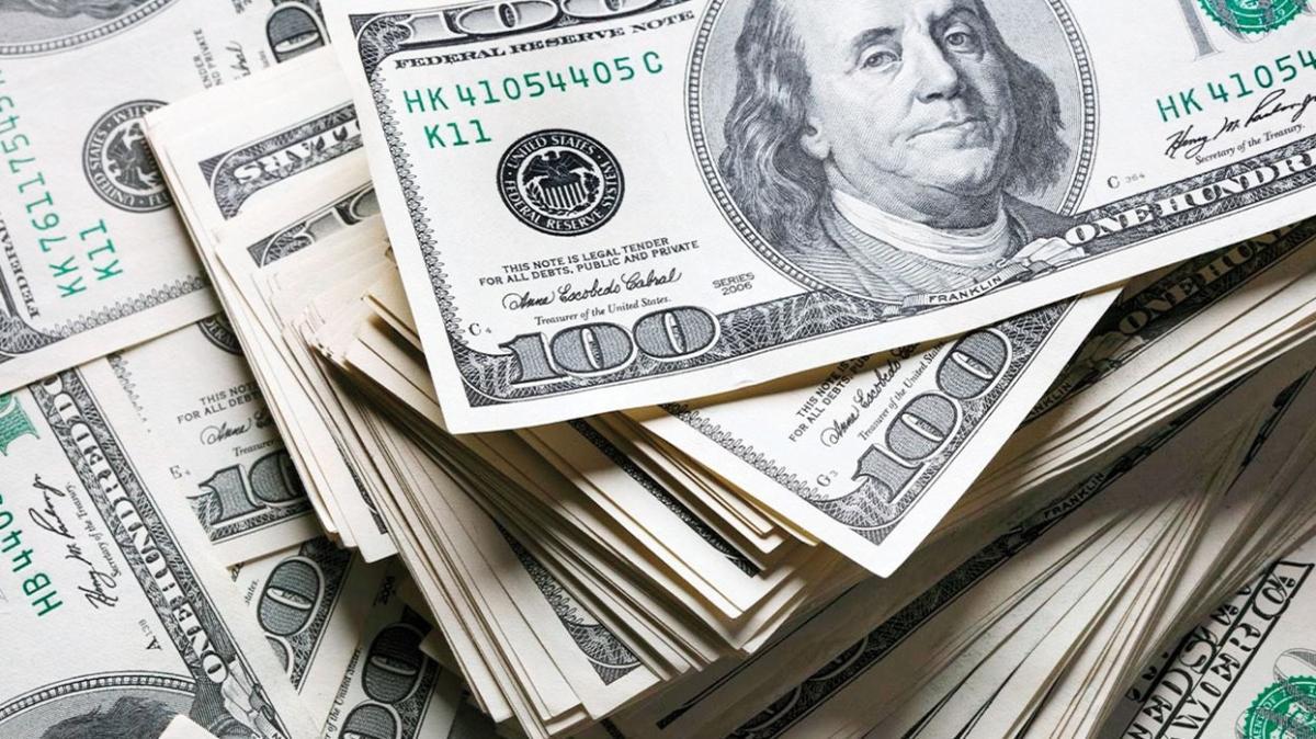 Dolar son iki günde % 3.7 değer kaybetti
