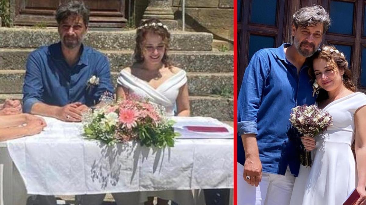 Deniz Uğur ve Erdinç Gülener nikah masasına oturdu