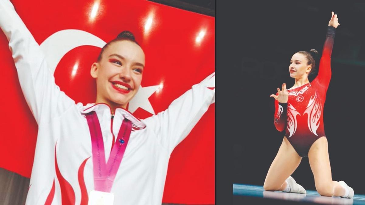 """Türk cimnastik tarihinin """"altın"""" kızı: Ayşe Begüm Onbaşı"""