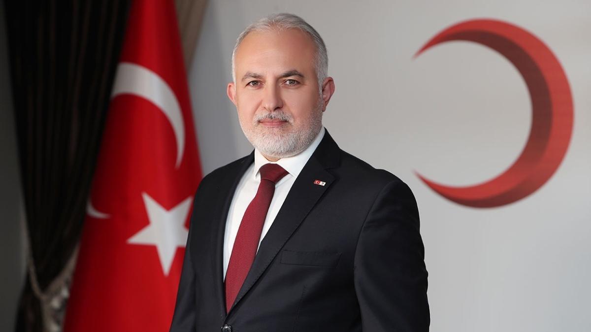 Türk Kızılay Genel Başkanı Dr. Kerem Kınık: En büyük gücümüz sürekli kan bağışçıları