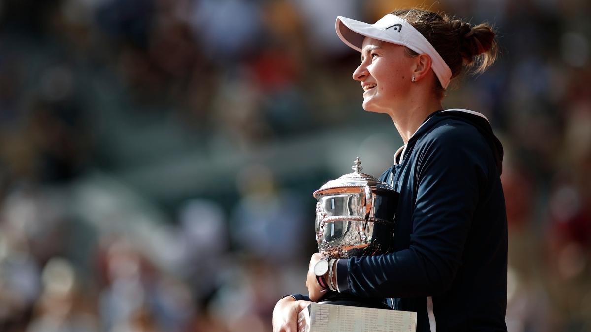 Barbora Krejcikova, Fransa Açık tek kadınlarda şampiyonluğa ulaştı