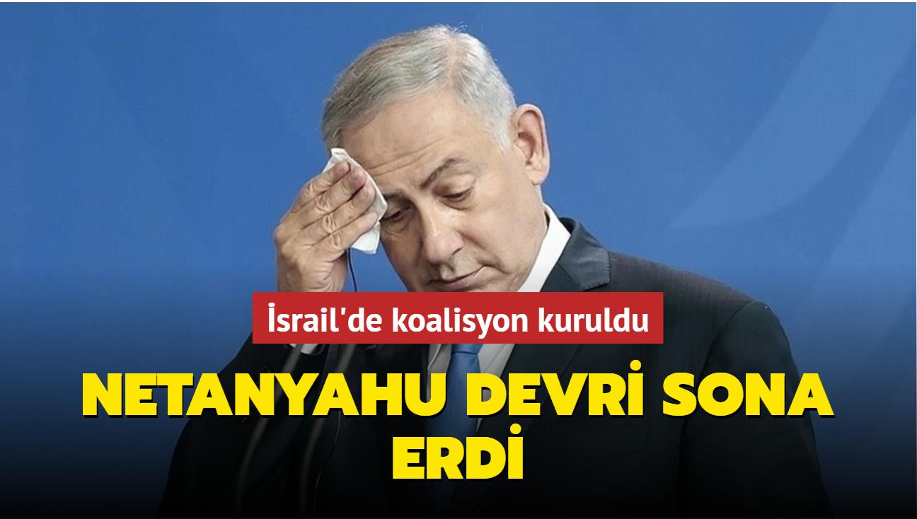 İsrail'de Netanyahu devri sona erdi