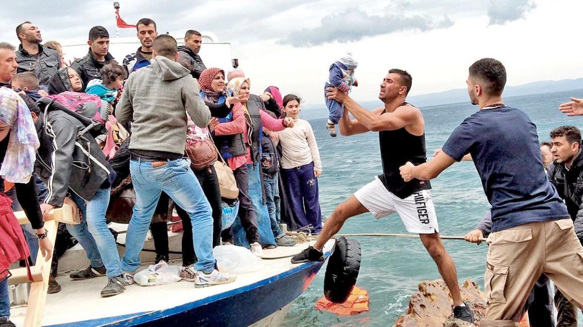 2 günde bin göçmen yakalandı