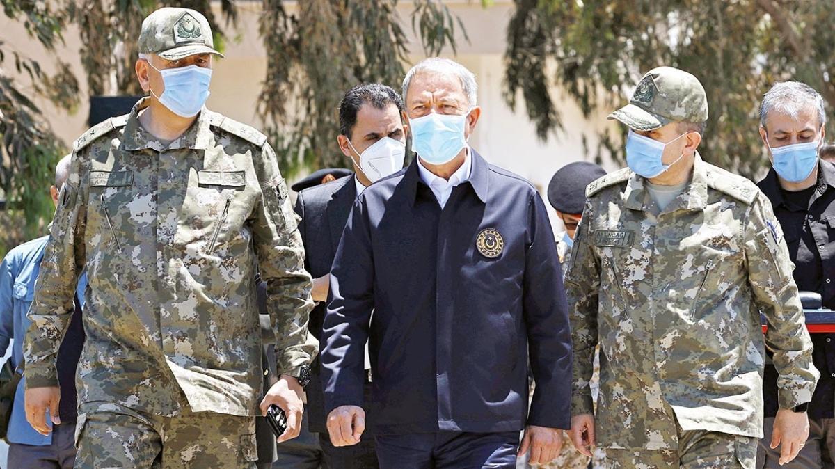 Milli Savunma Bakanı Akar: Dünya Libya'daki toplu mezarları unutmamalı
