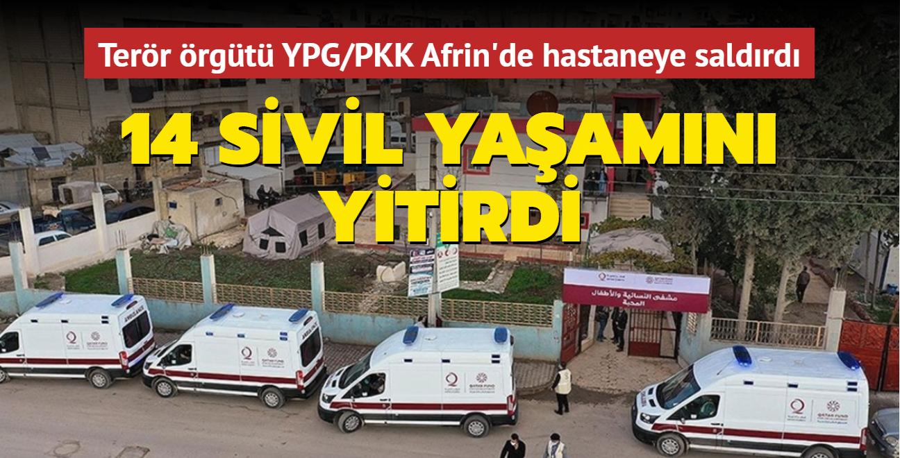 Terör örgütü YPG/PKK'nın saldırısına maruz kalmışlardı... 14 sivil yaşamını yitirdi