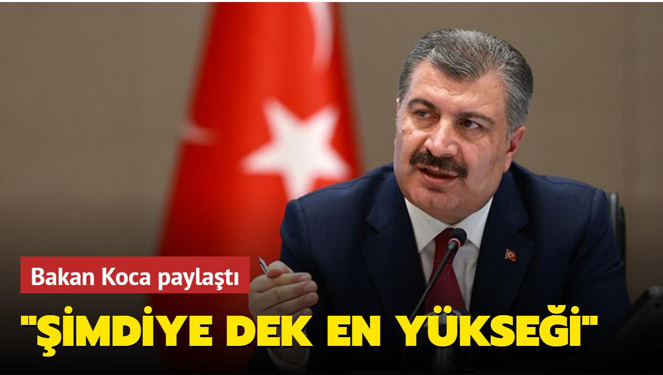 """Bakan Koca paylaştı: """"En mutlu anlarını yaşayacaklar"""""""