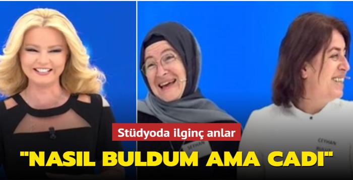 """""""Beni bulamaz"""" dediği Müge Anlı'dan Işıl Naz Hoşbay'a gülümseten yanıt: """"Nasıl buldum ama cadı"""""""