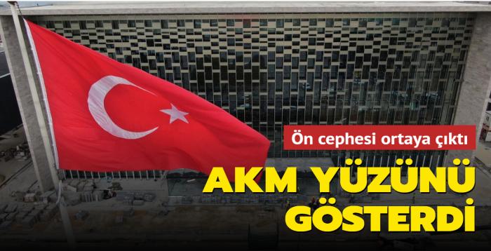 Atatürk Kültür Merkezi yüzünü gösterdi