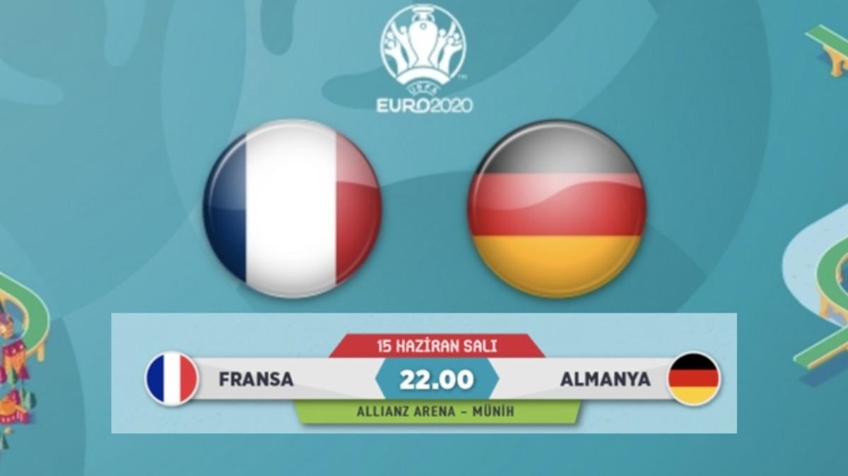 Fransa Almanya maçı hangi kanalda canlı yayınlanacak? Fransa Almanya maçı ne zaman, saat kaçta?