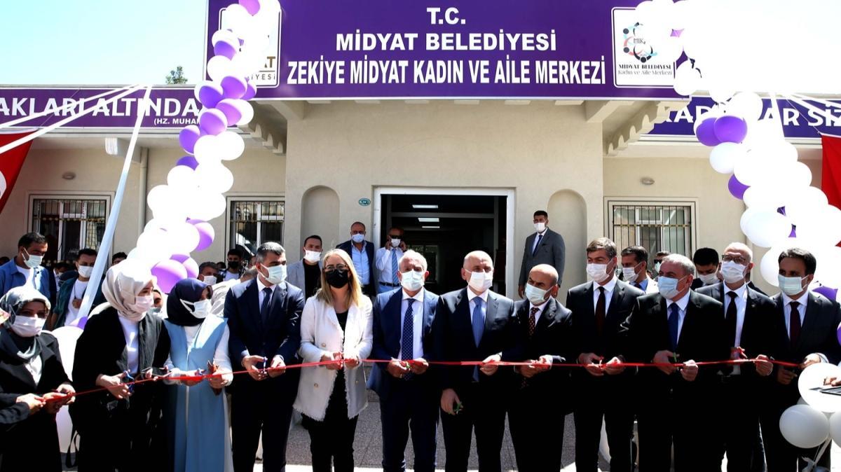 Bakan Adil Karaismailoğlu, Mardin'de açılış ve ziyaretlerde bulundu