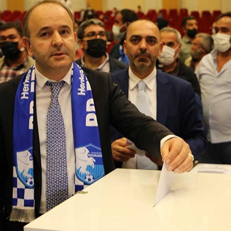 BB Erzurumspor'da Ömer Düzgün tekrar başkanlığa seçildi