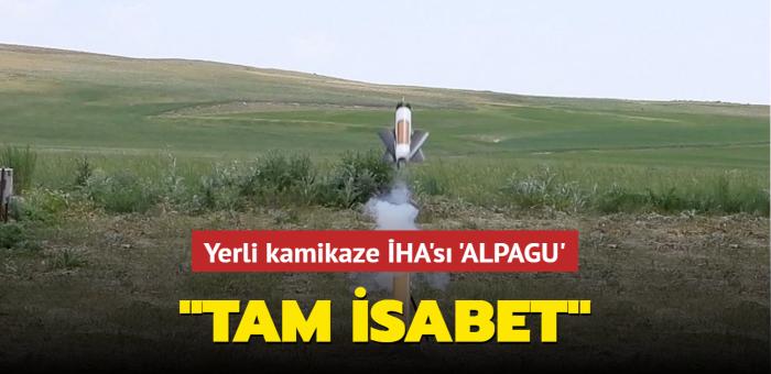 Savunma Sanayii Başkanı Demir'den 'ALPAGU' paylaşımı: 'Tam isabet'