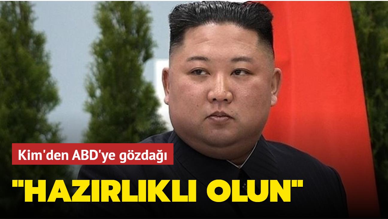 Kim Jong-un ABD ile diyaloğa da çatışmaya da hazırlıklı olunmasını istedi
