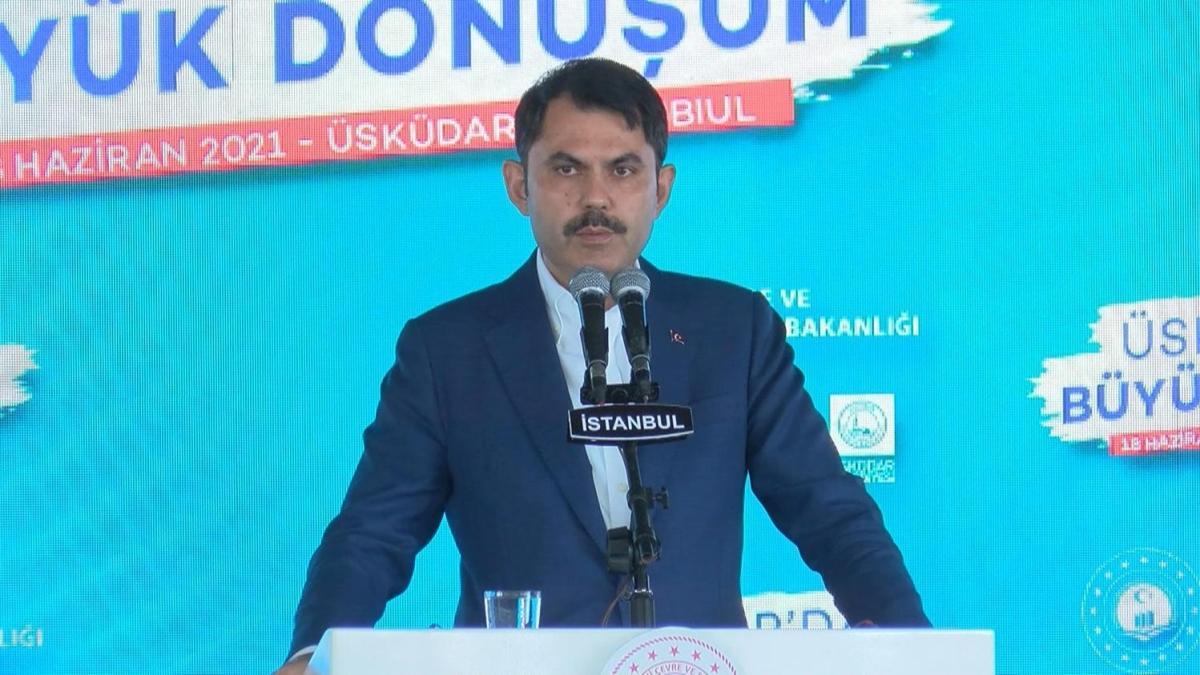 Bakan Kurum son rakamı açıkladı: 1,5 milyon konut var