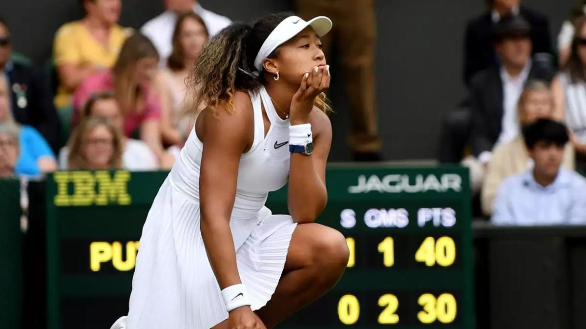 Naomi Osaka, Wimbledon'a da katılmayacak