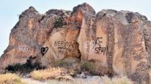 Peribacaları'nda vandallık hortladı