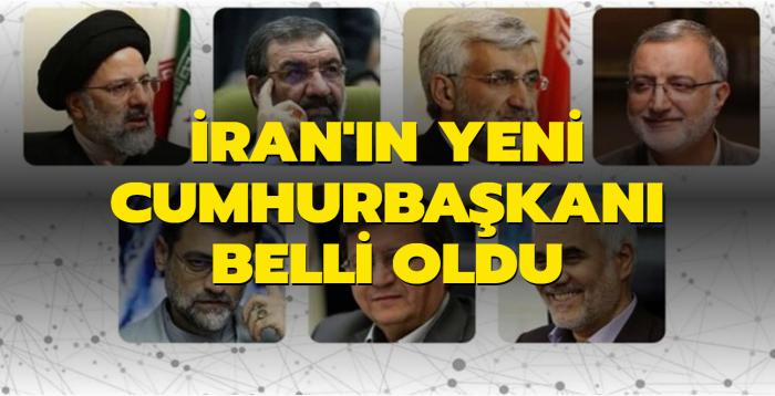 İbrahim Reisi İran'ın 8. Cumhurbaşkanı oldu