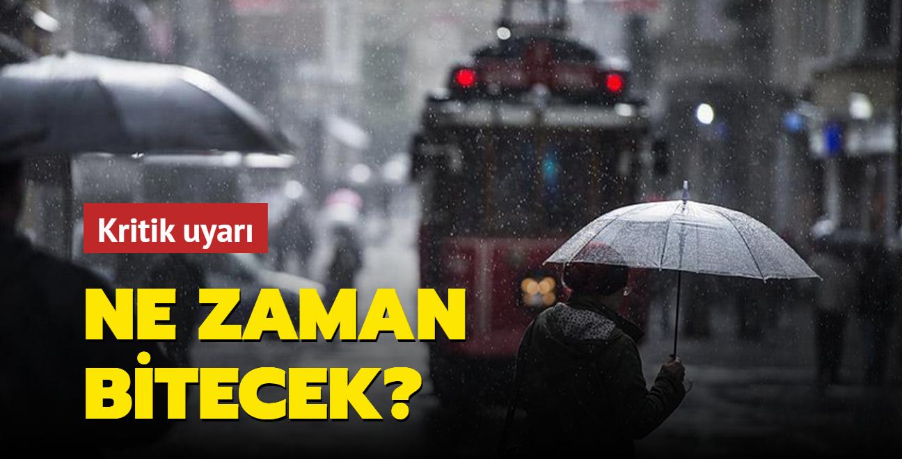 Meteoroloji'den İstanbul ve Trakya için şiddetli yağış uyarısı