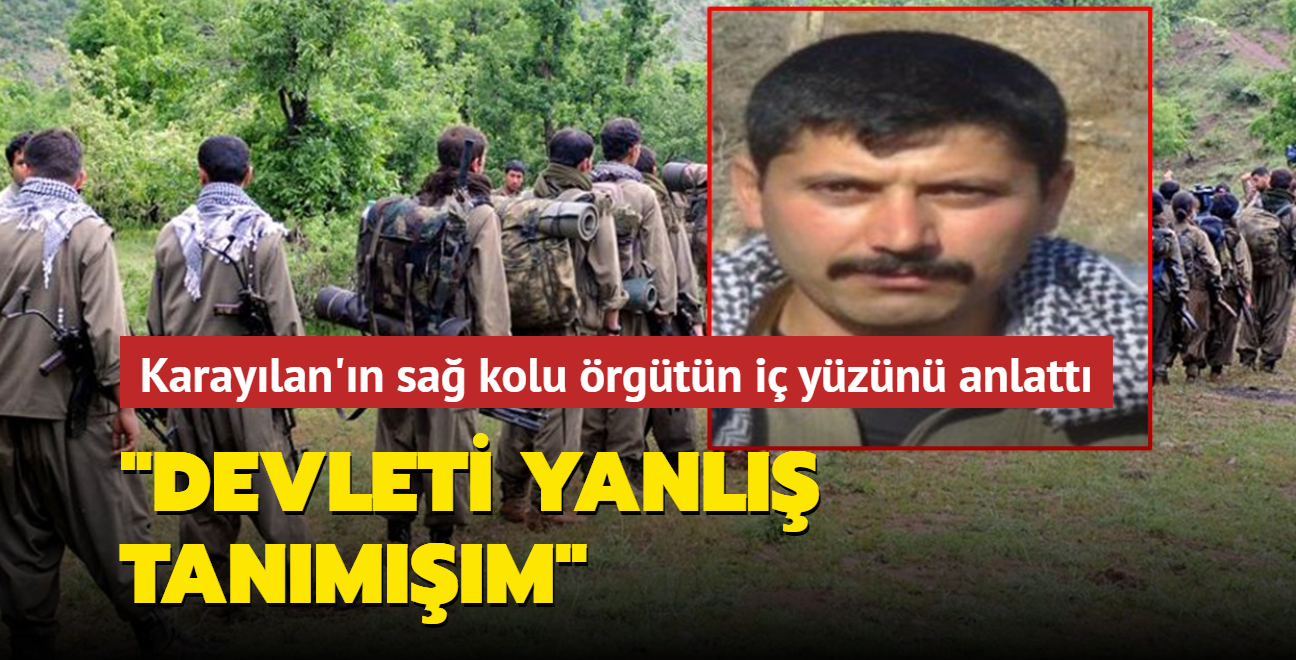 Yakalanan üst düzey PKK'lı teröristten dağdakilere çağrı