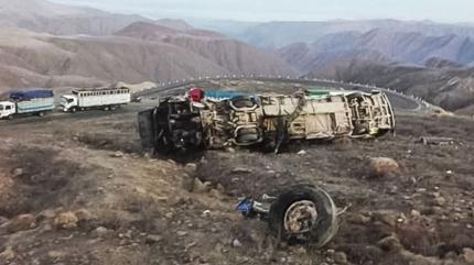 Peru'da feci kaza: Ölü ve yaralılar var