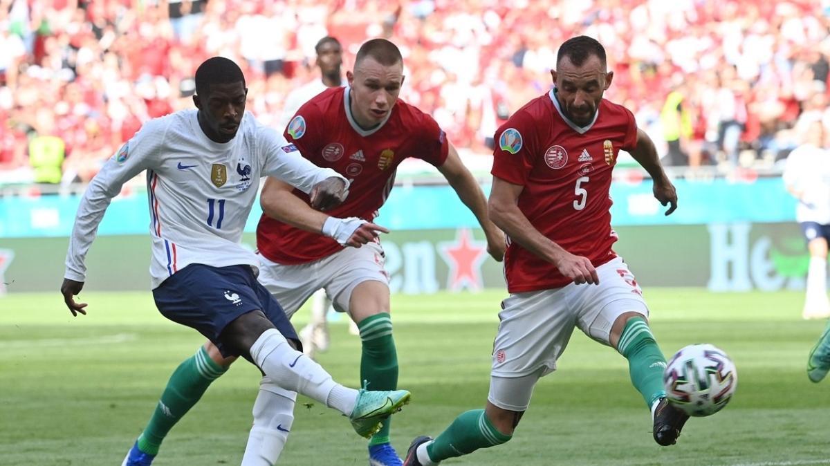 EURO 2020'de Fransa, Macaristan ile 1-1 berabere kaldı