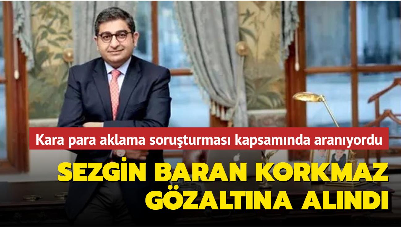 Kara para aklama soruşturması kapsamında aranıyordu... Sezgin Baran Korkmaz Avusturya'da gözaltına alındı