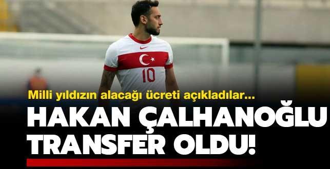 Hakan Çalhanoğlu'nun yeni adresi belli oldu