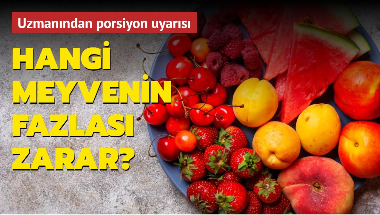 """Meyvenin fazlası karaciğeri etkiliyor! Hangi meyvenin fazlası zarar"""""""