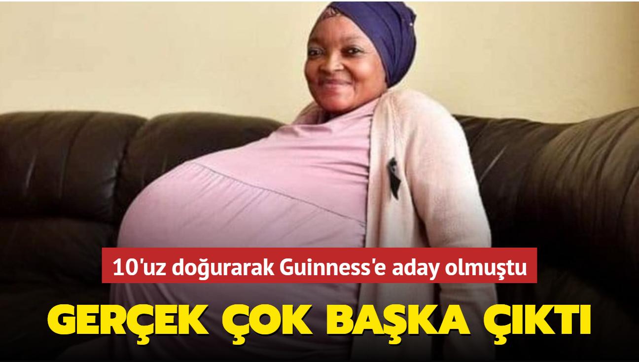 10 bebek doğurduğunu iddia eden kadının hamile olmadığı ortaya çıktı