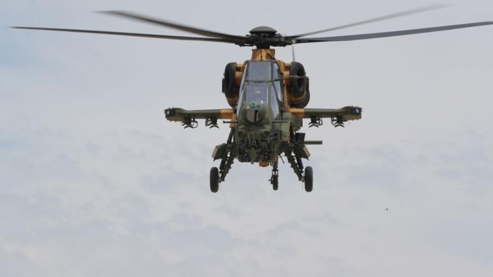 Bir T129 ATAK helikopteri daha başarıyla teslim edildi