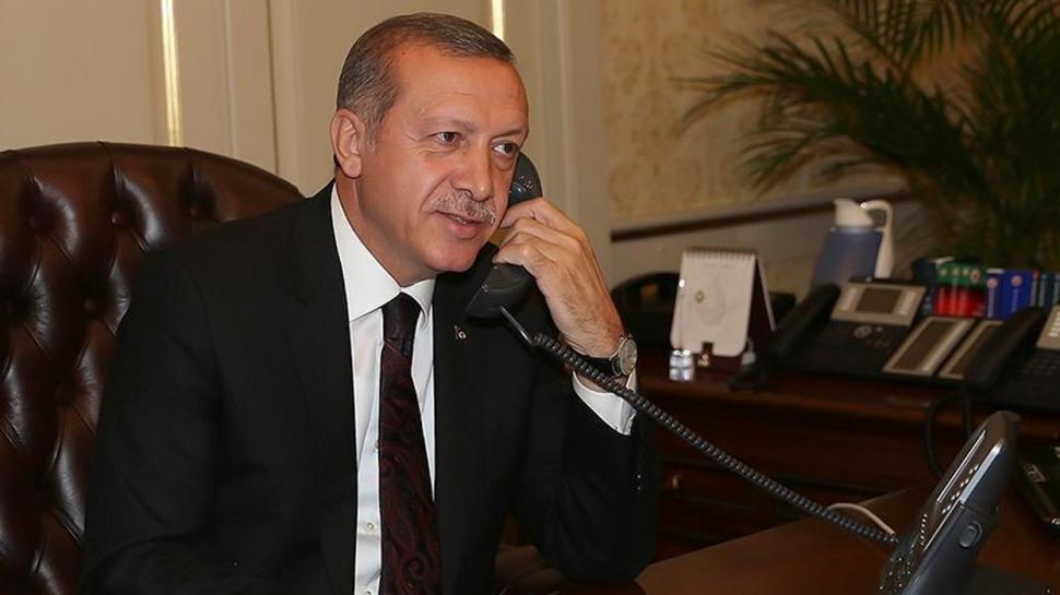 Başkan Erdoğan'dan Burak Elmas'a tebrik telefonu