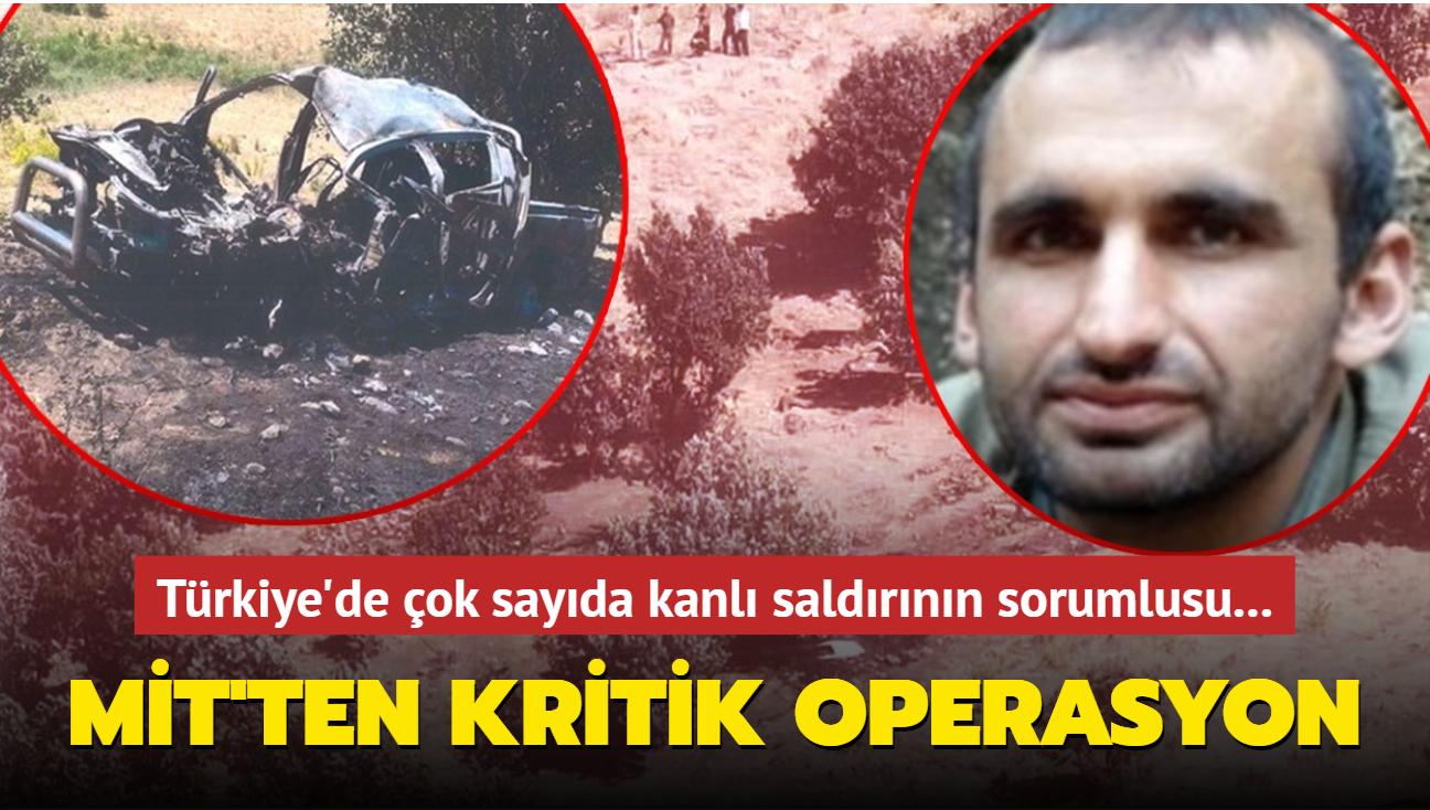 Kandil'den sonra Süleymaniye de örgüte dar edildi: PKK'lı terörist Ulaş Doğan etkisiz hale getirildi