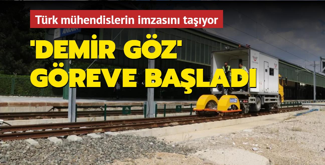 Türk mühendislerin imzasını taşıyor... 'Demir Göz' göreve başladı