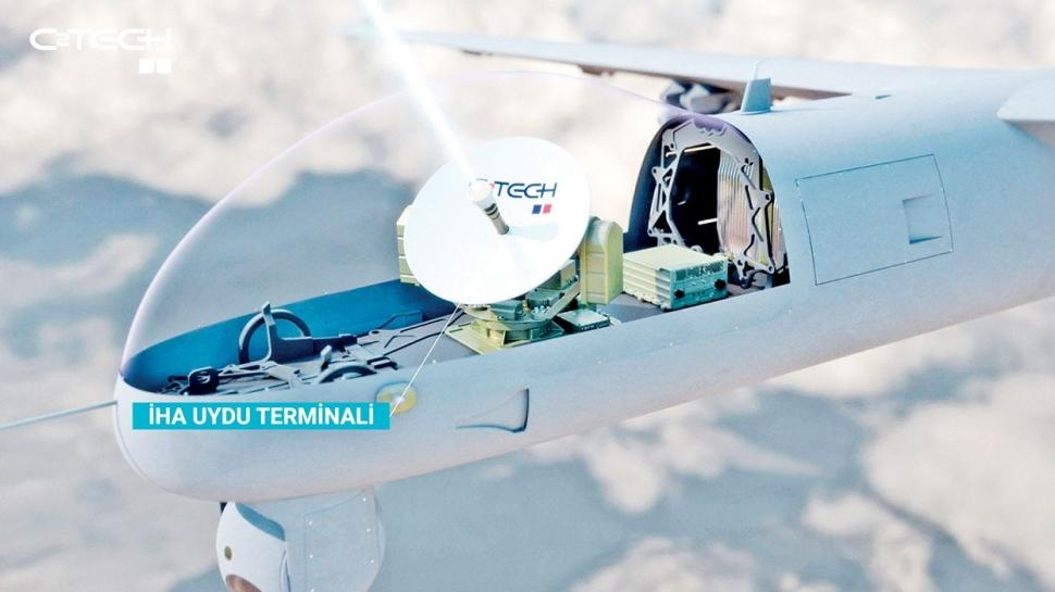 İHA'lar yerli uydu terminaliyle uçuyor
