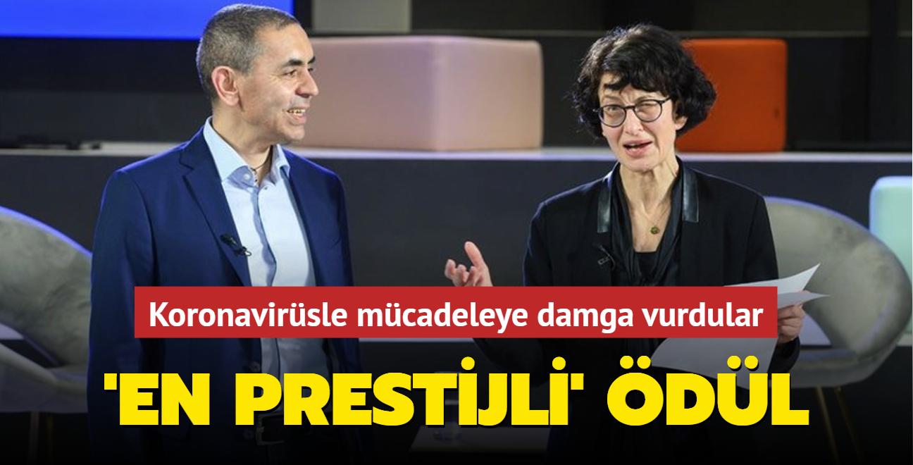 Koronavirüsle mücadeleye damga vurdular... Türk bilim insanlarına 'en prestijli' ödül